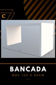 Bancada de Centro em Madeira